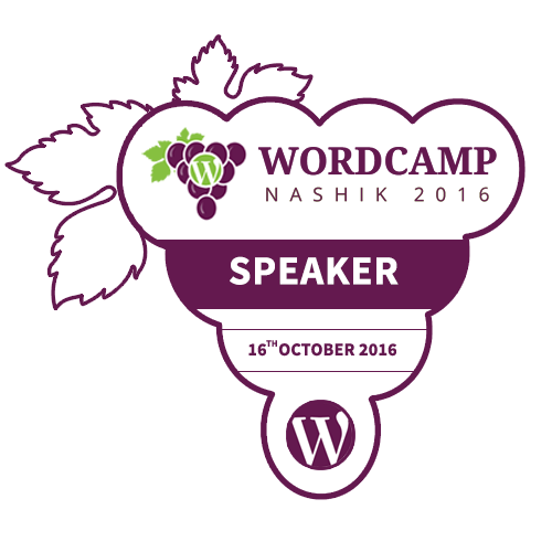 I'm Speaking at WordCamp Nashik 2016