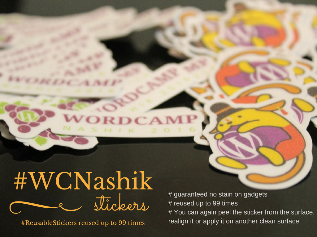 #WCNashik Stickers