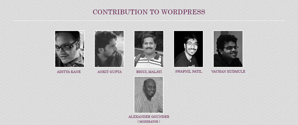 Contribution to WordPress