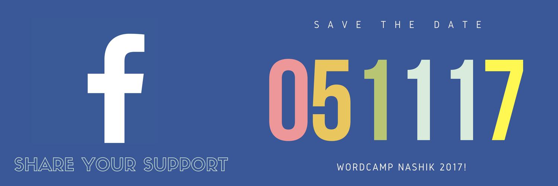WordCamp Nashik 2017 Facebook Support