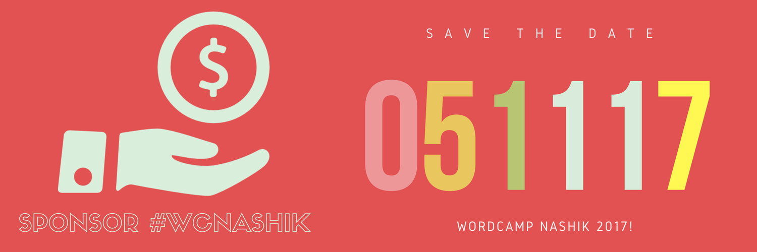 WordCamp Nashik 2017 Sponsorship
